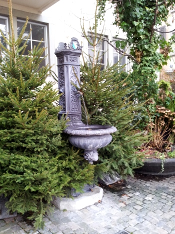 christmas fountains